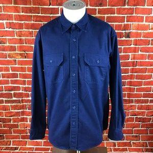 Vintage  Woolrich Chamois Flannel Shirt Size M